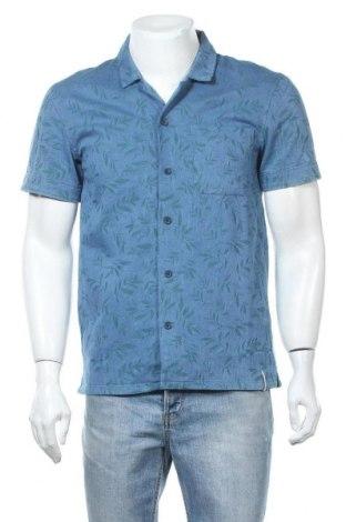 Мъжка риза Anerkjendt, Размер S, Цвят Син, 97% памук, 3% еластан, Цена 12,00лв.