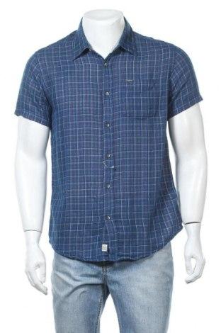 Мъжка риза Broadway, Размер S, Цвят Син, Памук, Цена 17,25лв.