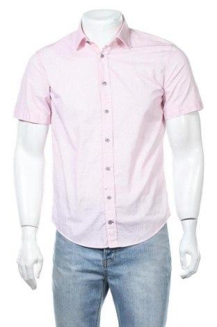 Мъжка риза Camp David, Размер S, Цвят Розов, Памук, Цена 22,25лв.
