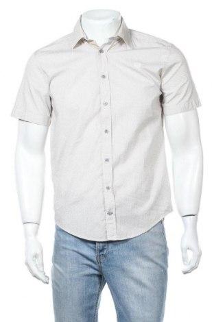 Ανδρικό πουκάμισο Camp David, Μέγεθος S, Χρώμα  Μπέζ, Βαμβάκι, Τιμή 18,18€