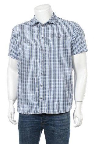 Ανδρικό πουκάμισο Icepeak, Μέγεθος XL, Χρώμα Μπλέ, 50% βαμβάκι, 50% πολυεστέρας, Τιμή 8,18€