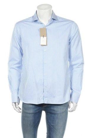 Ανδρικό πουκάμισο Massimo Dutti, Μέγεθος L, Χρώμα Μπλέ, Βαμβάκι, Τιμή 14,25€