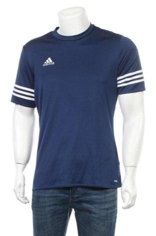 Ανδρικό t-shirt Adidas, Μέγεθος M, Χρώμα Μπλέ, Πολυεστέρας, Τιμή 11,69€