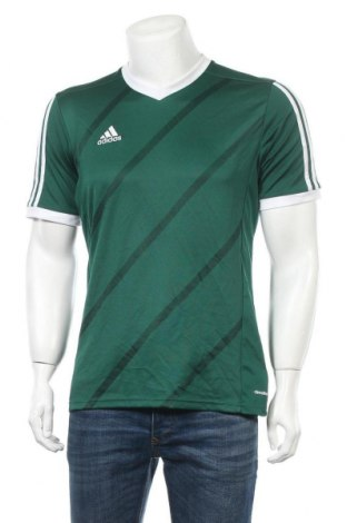 Ανδρικό t-shirt Adidas, Μέγεθος M, Χρώμα Πράσινο, Πολυεστέρας, Τιμή 13,64€