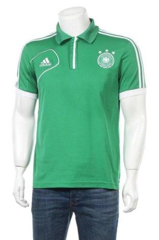 Ανδρικό t-shirt Adidas, Μέγεθος S, Χρώμα Πράσινο, Τιμή 10,39€