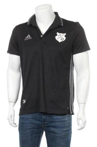Ανδρικό t-shirt Adidas, Μέγεθος L, Χρώμα Μαύρο, Πολυεστέρας, Τιμή 11,11€