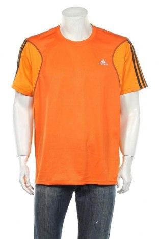 Ανδρικό t-shirt Adidas, Μέγεθος XL, Χρώμα Πορτοκαλί, Τιμή 11,72€