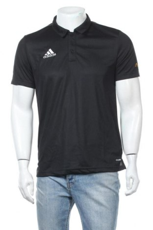 Ανδρικό t-shirt Adidas, Μέγεθος M, Χρώμα Μαύρο, Πολυεστέρας, Τιμή 42,22€