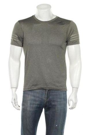 Ανδρικό t-shirt Adidas, Μέγεθος S, Χρώμα Γκρί, Πολυεστέρας, Τιμή 17,28€