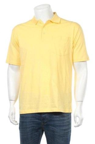 Мъжка тениска Boule..., Размер M, Цвят Жълт, Памук, Цена 16,17лв.