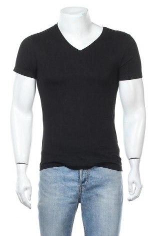 Ανδρικό t-shirt H&M Divided, Μέγεθος XS, Χρώμα Μαύρο, Βαμβάκι, Τιμή 9,94€