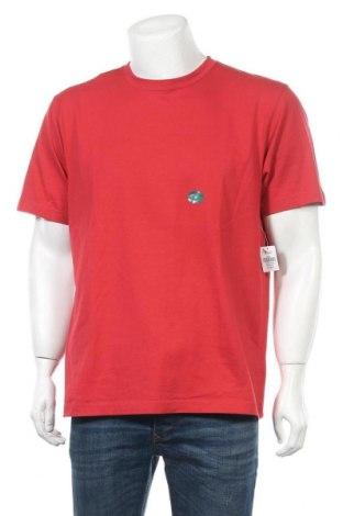 Мъжка тениска L.L. Bean, Размер M, Цвят Червен, Памук, Цена 12,60лв.