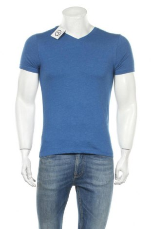 Мъжка тениска Mossimo, Размер S, Цвят Син, 60% памук, 40% полиестер, Цена 15,96лв.