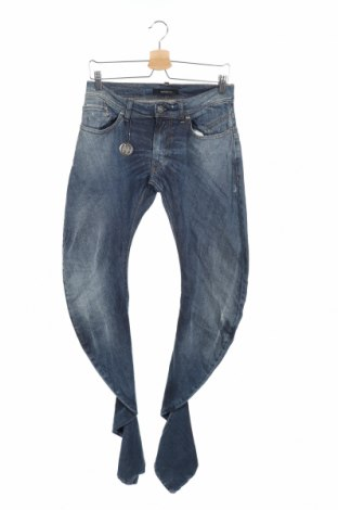 Мъжки дънки Imperial, Размер S, Цвят Син, 98% памук, 2% еластан, Цена 32,70лв.