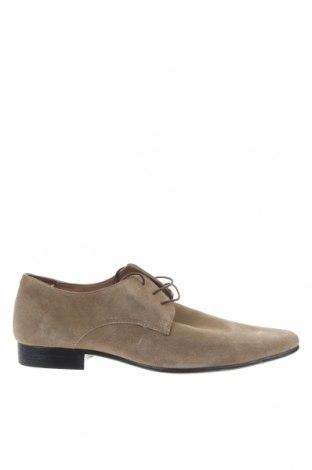 Мъжки обувки ASOS, Размер 45, Цвят Бежов, Естествен велур, Цена 44,50лв.