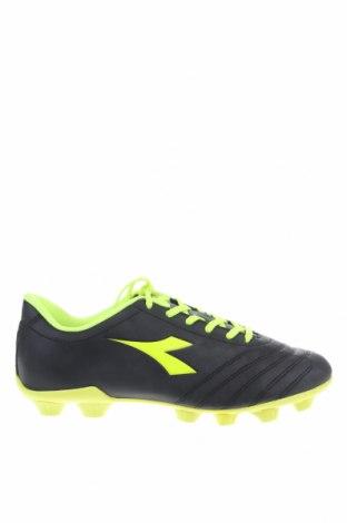 Ανδρικά παπούτσια Diadora, Μέγεθος 41, Χρώμα Μαύρο, Δερματίνη, Τιμή 21,50€