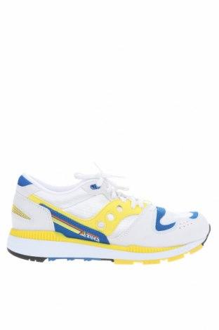 Ανδρικά παπούτσια Saucony, Μέγεθος 43, Χρώμα Πολύχρωμο, Δερματίνη, κλωστοϋφαντουργικά προϊόντα, Τιμή 32,78€
