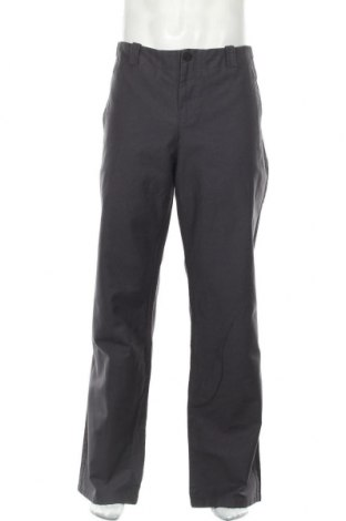 Pantaloni de bărbați Hannes Roether, Mărime XL, Culoare Gri, Bumbac, Preț 130,76 Lei
