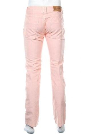Pantaloni de bărbați Munsingwear, Mărime M, Culoare Roz, Bumbac, Preț 170,23 Lei