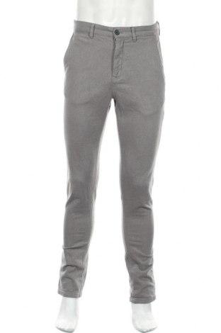 Ανδρικό παντελόνι Zara, Μέγεθος M, Χρώμα Γκρί, 98% βαμβάκι, 2% ελαστάνη, Τιμή 6,58€