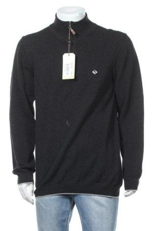 Мъжки пуловер Sir Raymond Tailor, Размер XL, Цвят Сив, Памук, Цена 49,02лв.