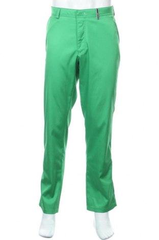 Ανδρικό αθλητικό παντελόνι Brax Golf, Μέγεθος L, Χρώμα Πράσινο, 96% πολυεστέρας, 4% ελαστάνη, Τιμή 12,86€