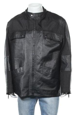 Мъжко кожено яке Danier, Размер XL, Цвят Черен, Естествена кожа, Цена 29,66лв.