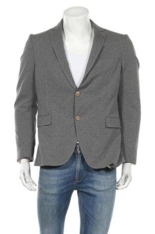 Мъжко сако Cinque, Размер L, Цвят Сив, 90% памук, 10% еластан, Цена 27,58лв.