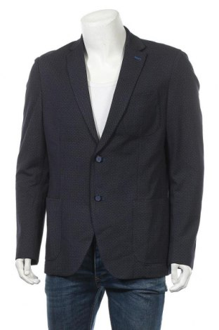 Мъжко сако Pierre Cardin, Размер L, Цвят Син, 68% вискоза, 27% полиамид, 5% еластан, Цена 49,14лв.