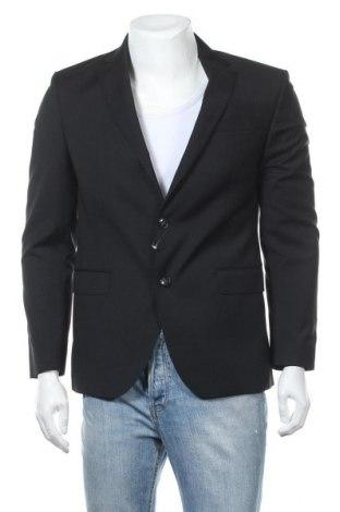 Pánské sako  Rene Lezard, Velikost M, Barva Černá, Vlna, Cena  242,00Kč