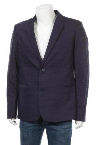 Ανδρικό σακάκι Top Secret, Μέγεθος XL, Χρώμα Μπλέ, 65% πολυεστέρας, 35% βισκόζη, Τιμή 10,75€