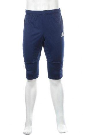 Ανδρικό αθλητικό παντελόνι Adidas, Μέγεθος S, Χρώμα Μπλέ, Πολυεστέρας, Τιμή 38,27€