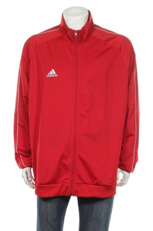 Ανδρική αθλητική ζακέτα Adidas, Μέγεθος 3XL, Χρώμα Κόκκινο, Πολυεστέρας, Τιμή 38,27€