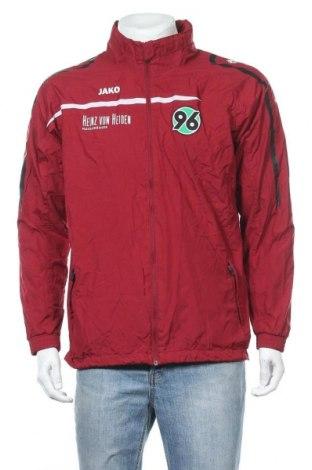 Ανδρικό αθλητικό μπουφάν Jako, Μέγεθος M, Χρώμα Κόκκινο, Πολυεστέρας, Τιμή 9,42€