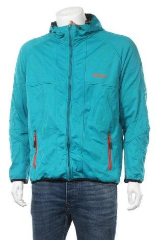 Мъжко спортно яке Shamp, Размер L, Цвят Син, Полиестер, Цена 37,91лв.
