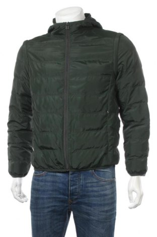 Ανδρικό μπουφάν Stefanel, Μέγεθος M, Χρώμα Πράσινο, Πολυεστέρας, Τιμή 42,61€