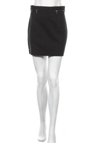Пола H&M, Размер M, Цвят Черен, 49% памук, 48% полиамид, 3% еластан, Цена 4,08лв.