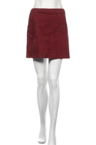 Пола H&M, Размер L, Цвят Червен, 98% памук, 2% еластан, Цена 18,75лв.