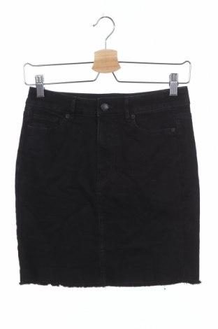 Φούστα Joe Fresh, Μέγεθος XS, Χρώμα Μαύρο, 98% βαμβάκι, 2% ελαστάνη, Τιμή 11,69€