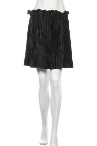 Пола Monki, Размер M, Цвят Черен, 95% полиестер, 5% еластан, Цена 6,67лв.