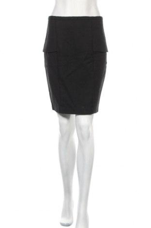 Пола Zara, Размер M, Цвят Черен, 57% памук, 40% полиамид, 3% еластан, Цена 24,75лв.