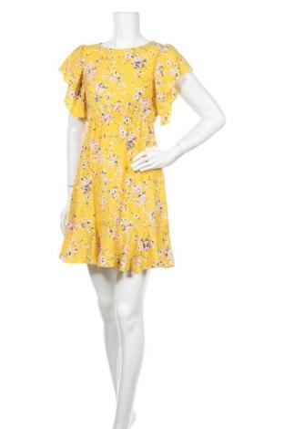 Φόρεμα Ax Paris, Μέγεθος S, Χρώμα Κίτρινο, Πολυεστέρας, Τιμή 17,54€