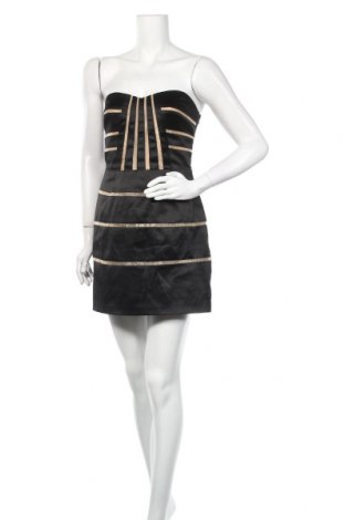 Рокля Manoukian, Размер S, Цвят Черен, 52% полиестер, 44% памук, 4% еластан, Цена 14,70лв.