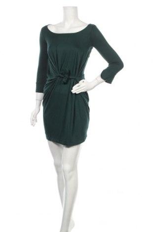 Рокля Rinascimento, Размер S, Цвят Зелен, 94% вискоза, 6% еластан, Цена 27,36лв.