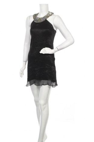 Рокля Warehouse, Размер M, Цвят Черен, 62% коприна, 38% полиамид, Цена 19,60лв.