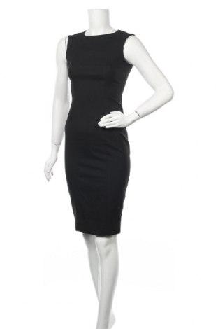 Рокля Zara, Размер XS, Цвят Черен, 65% полиестер, 32% вискоза, 3% еластан, Цена 39,90лв.
