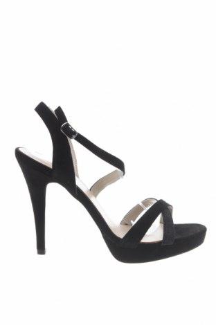 Σανδάλια Anna Field, Μέγεθος 41, Χρώμα Μαύρο, Φυσικό σουέτ, κλωστοϋφαντουργικά προϊόντα, Τιμή 25,65€