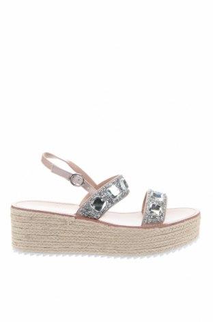Sandály Miss Selfridge, Velikost 41, Barva Béžová, Textile , Cena  880,00Kč