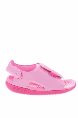 Σανδάλια Nike, Μέγεθος 23, Χρώμα Ρόζ , Δερματίνη, Τιμή 26,68€
