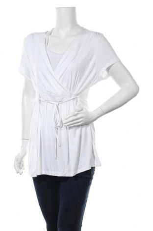 Τουνίκ Colours, Μέγεθος XL, Χρώμα Λευκό, 95% βισκόζη, 5% ελαστάνη, Τιμή 9,26€
